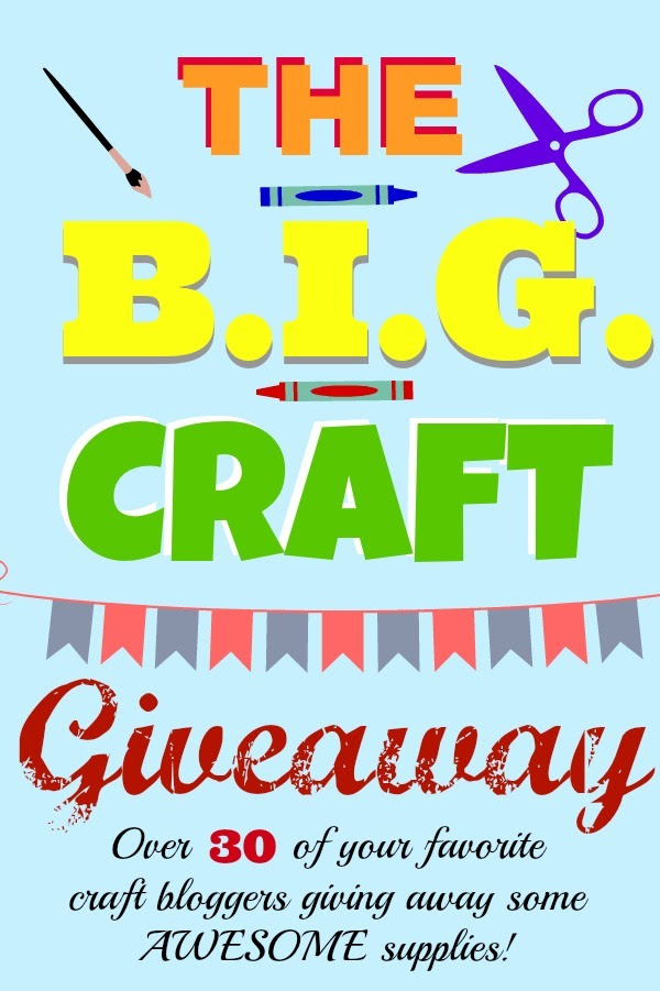 The B.I.G. Craft Giveaway