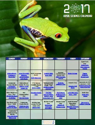 april science calendar image 2017