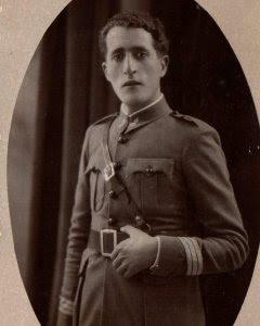 Vicente Cervera Grau, capitán de la Batería de Costa de San Felipe en Mahón (Menorca, fue fusilado el 9 de julio de 1942
