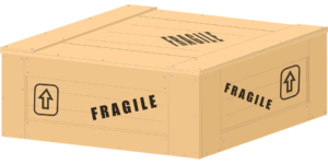 You should use wooden crates for moving antiques. They will protect your items from being damaged.