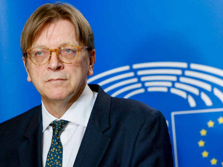 After last year's European elections, there was an informal agreement between German Chancellor Angela Merkel and French President Emmanuel Macron that Verhofstadt should be allowed to chair the conference on the Future of Europe.