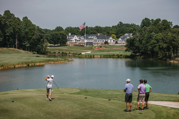 "Nearly 70 percent of voters in the area around the Trump National Golf Club near Charlotte, N.C., favored President Trump over Hillary Clinton in the election. ""How do we get busier?"" asked Jennifer Minton, the club's controller. ""We only have so many weekends."""