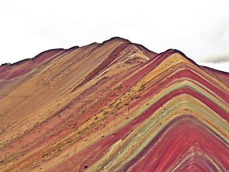 Peru, Cusco, Rainbow Mountains
