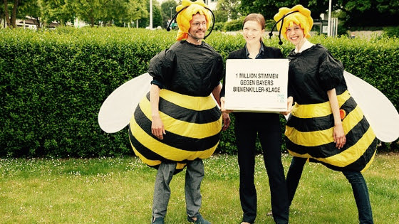 Bayer, stoppez la production et la vente de neonics.