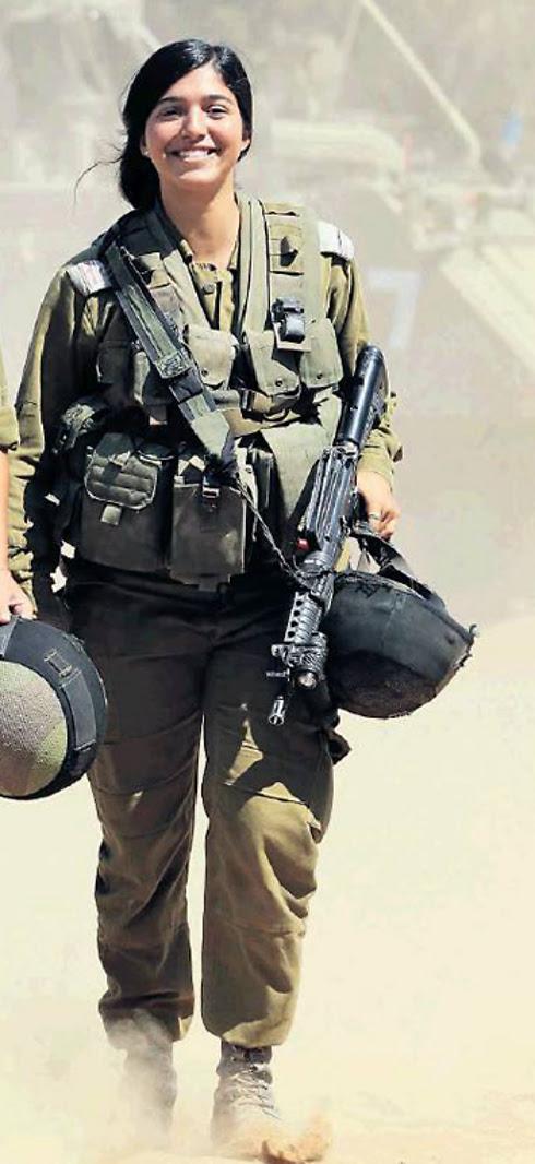 Staff Sgt. Noam Dan (Photo: Gadi Kablo, Yedioth Aharonoth)