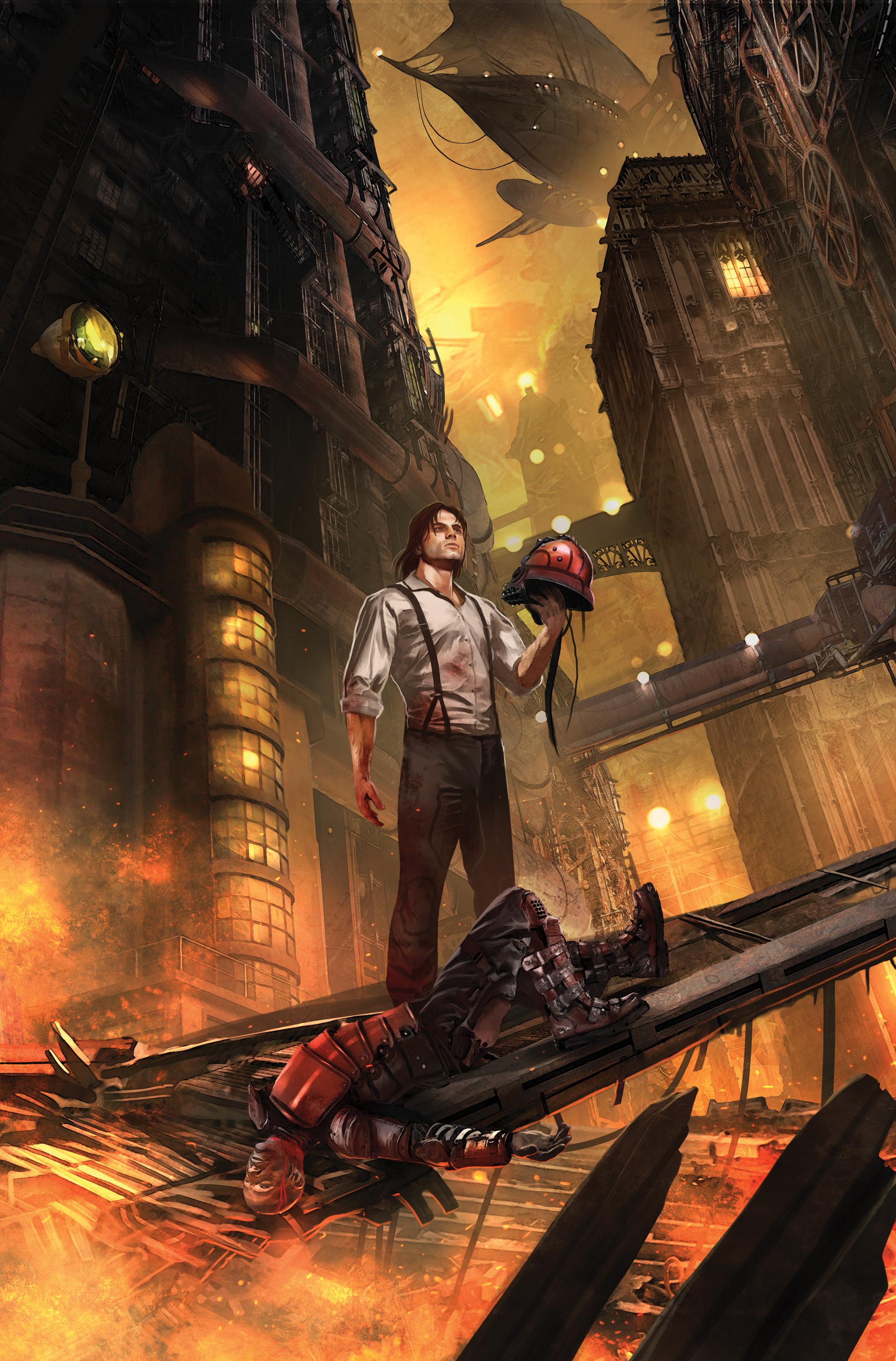 Lantern City #1 Main Cover