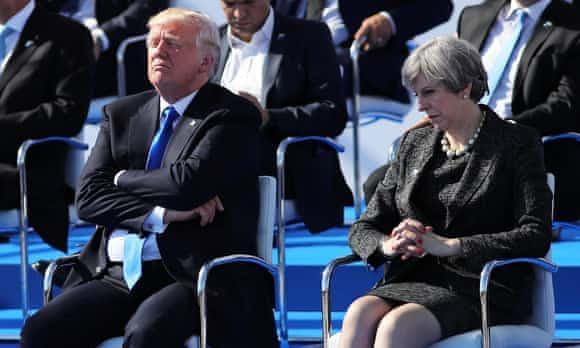 Fun at the Nato summit.