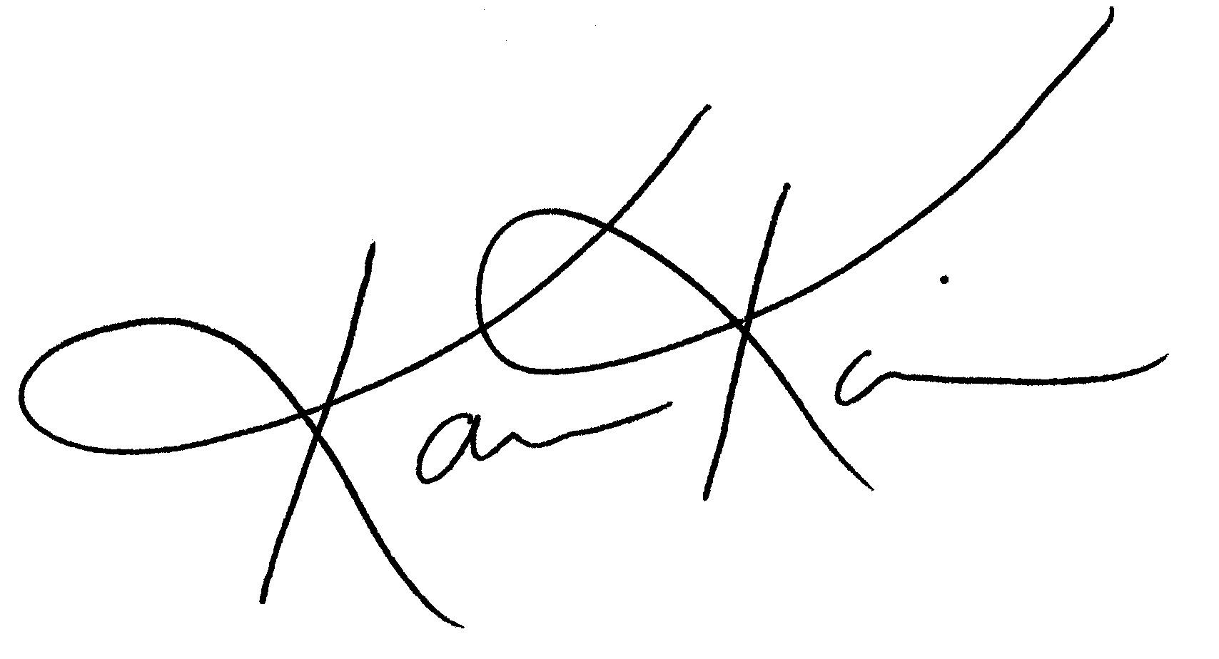 Karen Kain signature