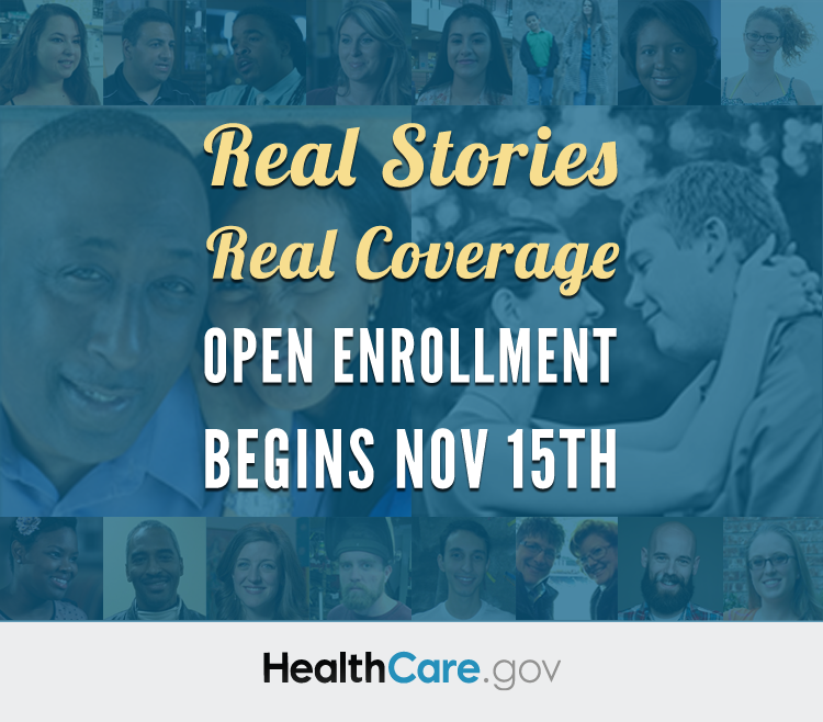Real Stories. Real Coverage. HealthCare.gov.