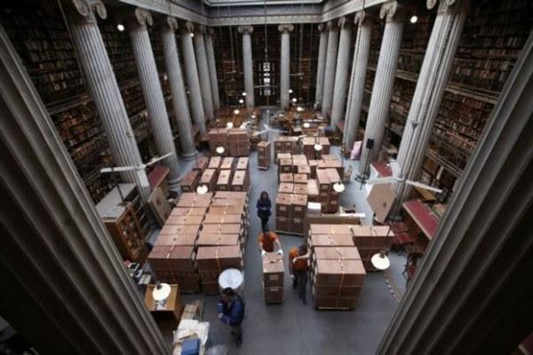 Η Εθνική Βιβλιοθήκη μετακομίζει στο Ίδρυμα Σ. Νιάρχος