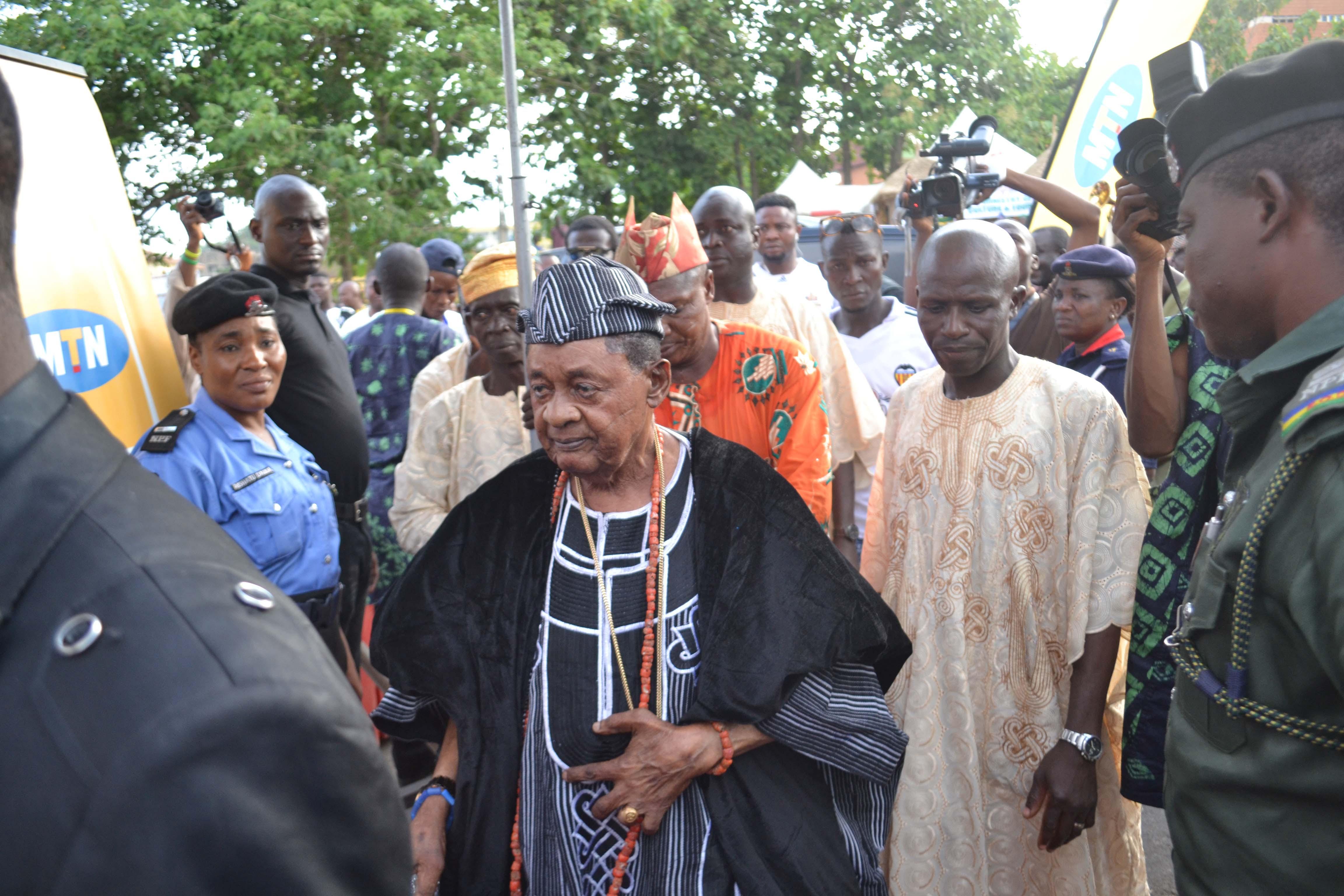 Oba Lamidi Olayiwola Adeyemi III, Alaafin