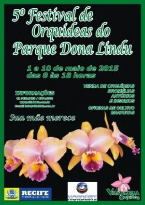 Cartaz - Parque Dona Lindu 2015