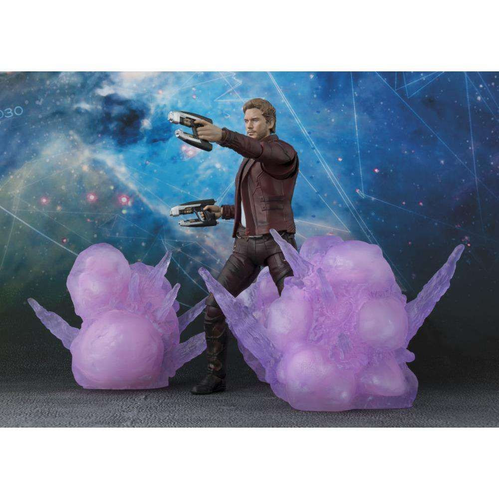 Image of Guardians of the Galaxy Vol. 2 S.H.Figuarts Star-Lord & Explosion Set