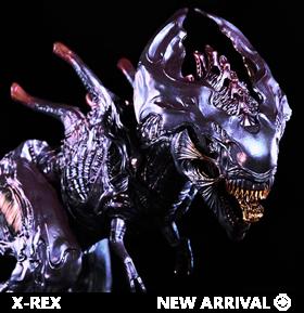 Broodlord X-Rex (Metallic Variant) 1/35 Scale Replica