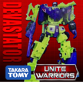 TAKARA UNITE WARRIORS UW-04 DEVASTATOR