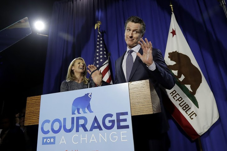 It looks like the Gavin Newsom recall is actually happening