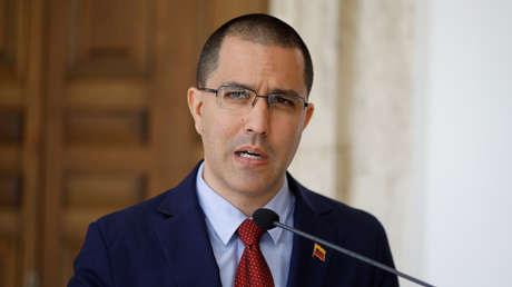 Jorge Arreaza, canciller venezolano.