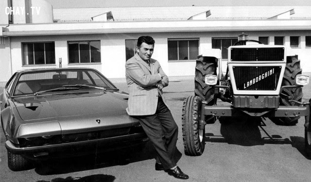 Lamborghini chỉ có thể sản xuất được những chiếc máy kéo,phát minh khoa học,phát minh xe lửa,phát minh dòng điện xoay chiều,phát minh bóng đèn điện,phát minh tàu vũ trụ