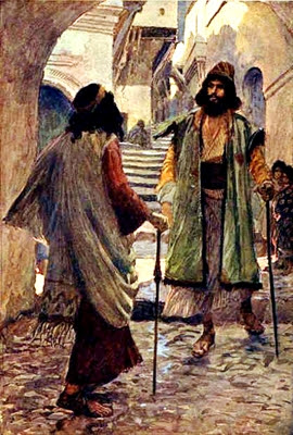 Saul                 Meets Samuel, by James Tissot