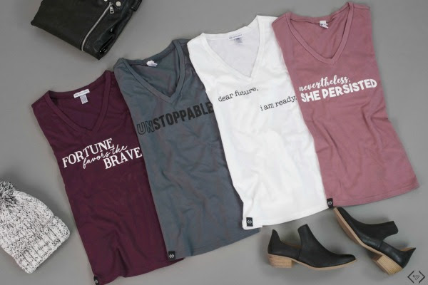 Bold & Full Wednesday - Empowerment Tees for $17.95 + FREE SHIPPING
