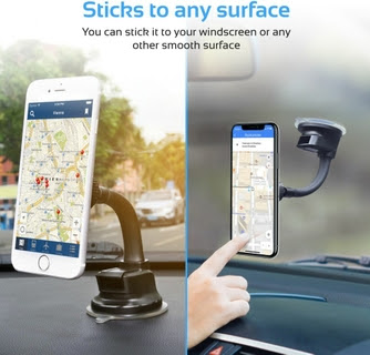 Windscreen or Dashboard Holder Without Harming Your Car