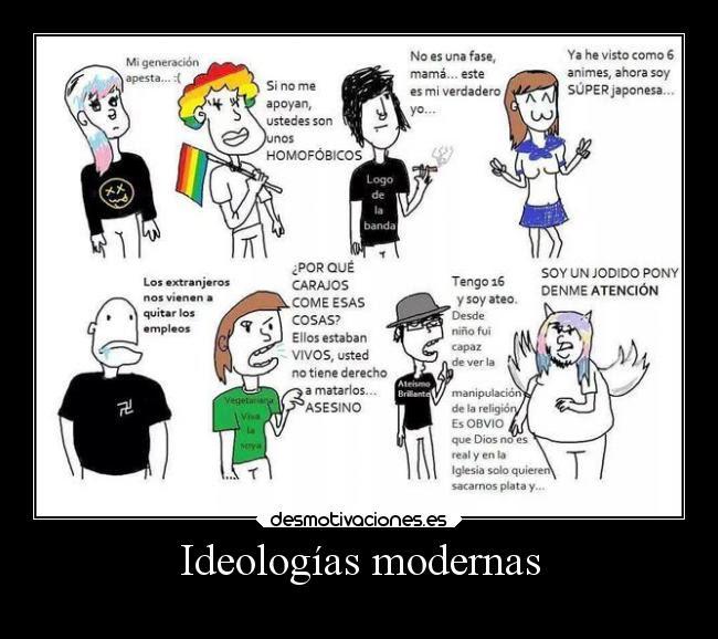 carteles sociedad ideologias desmotivaciones