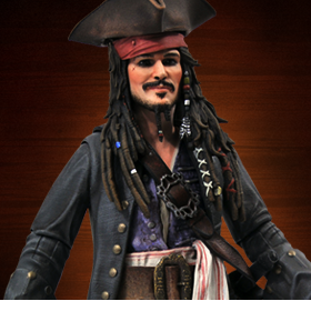 Pirates of the Caribbean Jack Sparrow Deluxe Figure