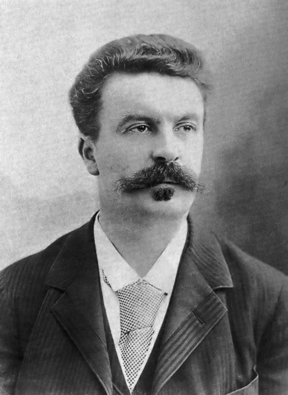 Guy de Maupasannt fotografiado por Nadar