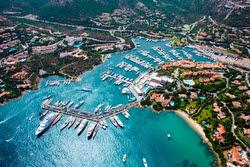 Porto Cervo, Sardinia- site of J/70 World Championshiph