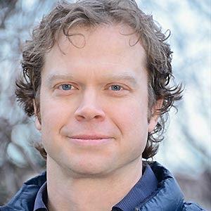close up portrait of Davin Holen