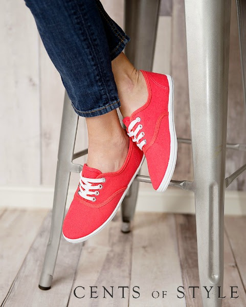 IMAGE: Fashion Friday- 3/13/15- Canvas Sneakers- $15.95 & FREE SHIPPING w/ code CANVAS