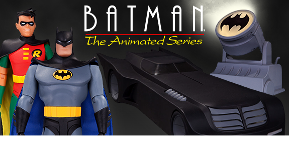 BATMAN THE ANIMATED SERIES FIGURES AND VEHICLES