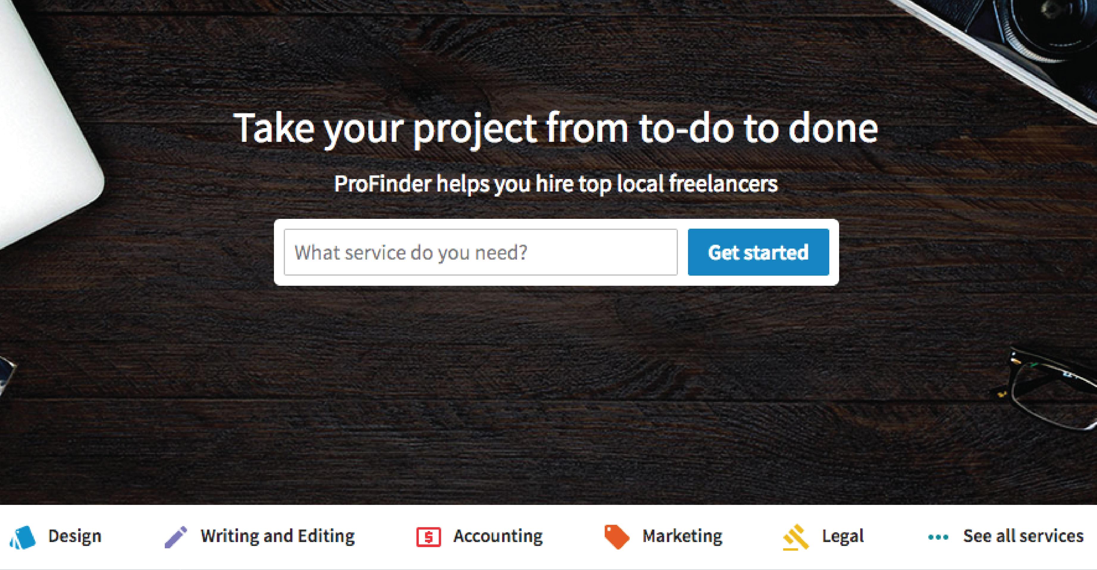 Image of LinkedIn's ProFinder