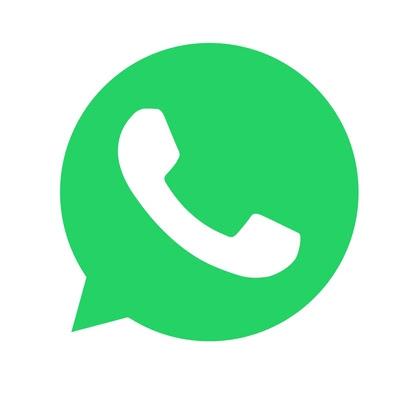 Mande uma mensagem via WhatsApp