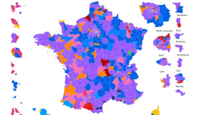 Découvrez les résultats définitifs du second tour dans votre circonscription