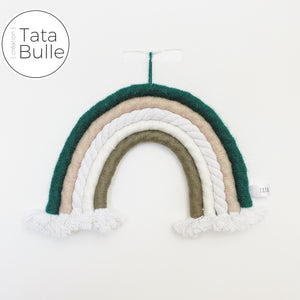 Rainbow macramé - Forest
