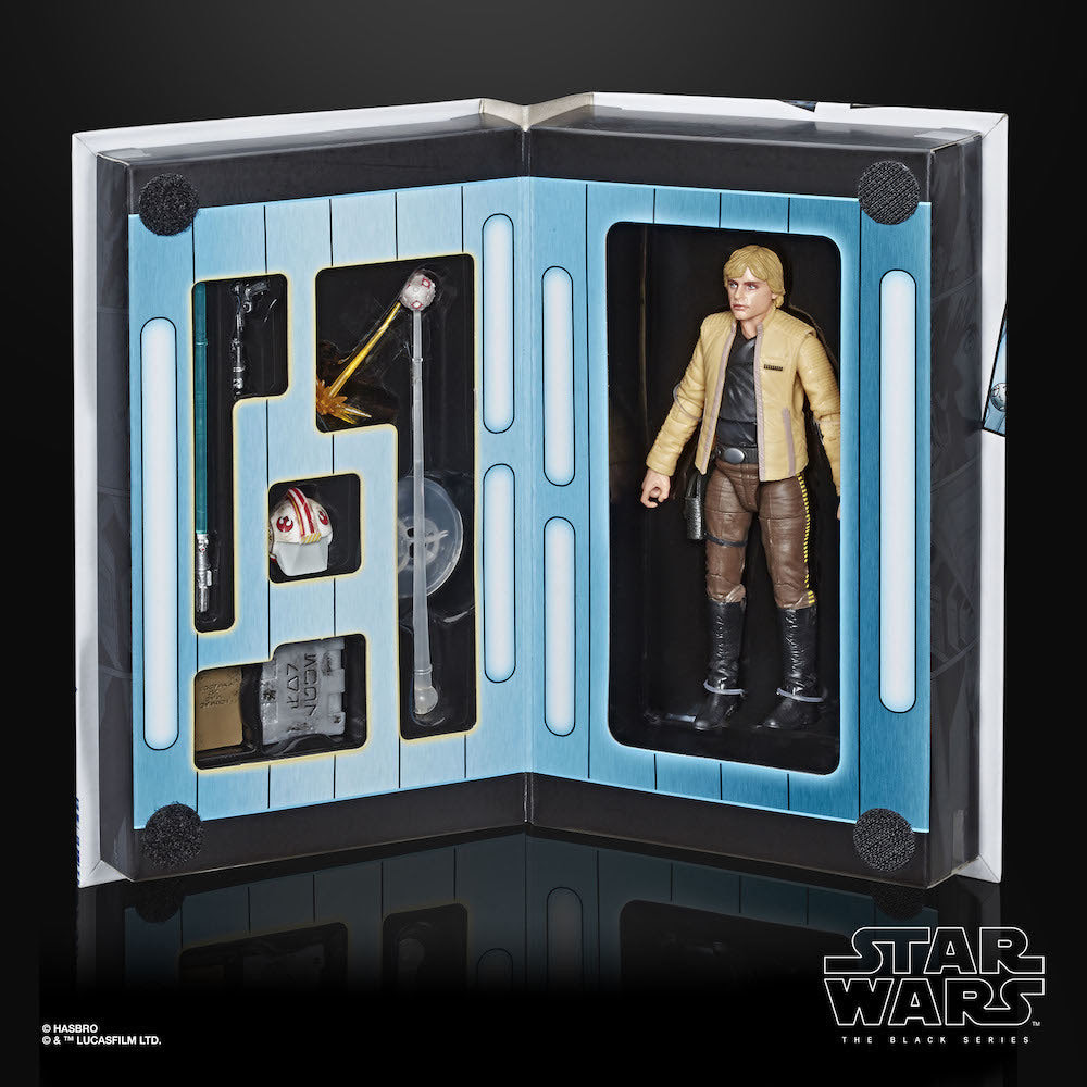 Star Wars Black Series Luke Skywalker Strikes (European Con Exclusive) Action Figure image