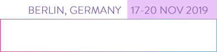 Aim for the future – Berlin, Germany 17–20 Nov 2019