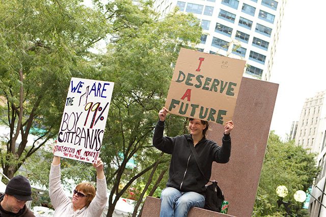 Representing homelessness as a symbol of capitalism's failure, Seattle's progressives are trying to build support for a social-justice agenda. (DARIN ROGERS / ALAMY STOCK PHOTO)