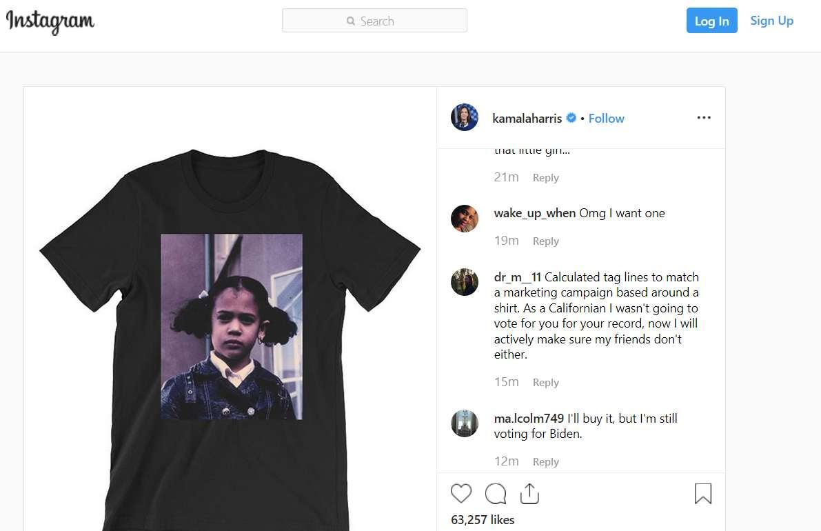 Instagram screen capture