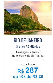 Pacote para Rio de Janeiro