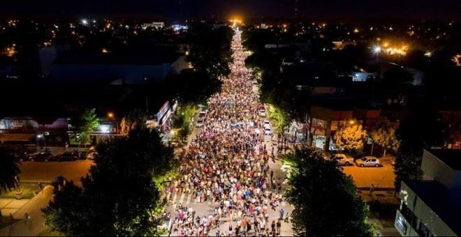 Protestas en Mendoza. / Asamblea Popular por el Agua