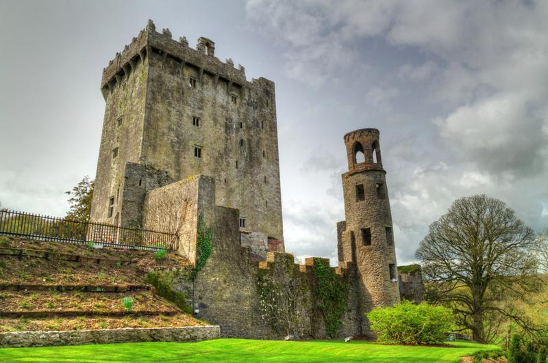 Blarney castle is home to the legendary Blarney Stone.
