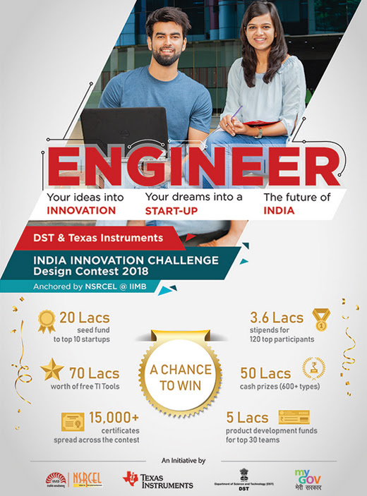 Texas Instruments invites Engineering Students to participate in IICDC.