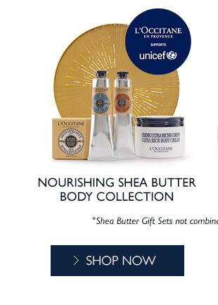 Shop Nourishing Shea Butter Body Collection