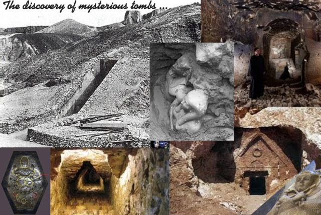 The Discovery of Mysterious Tombs ...