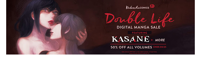Kodansha Double Life Sale: up to 50% off! | Ends 3/23