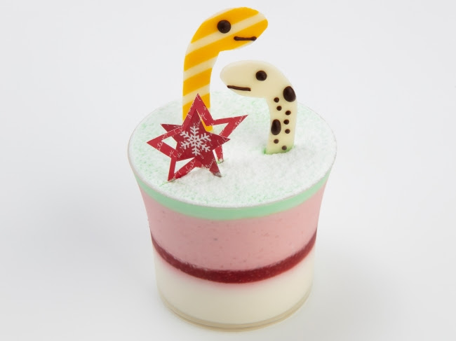 チンアナゴクリスマスケーキ