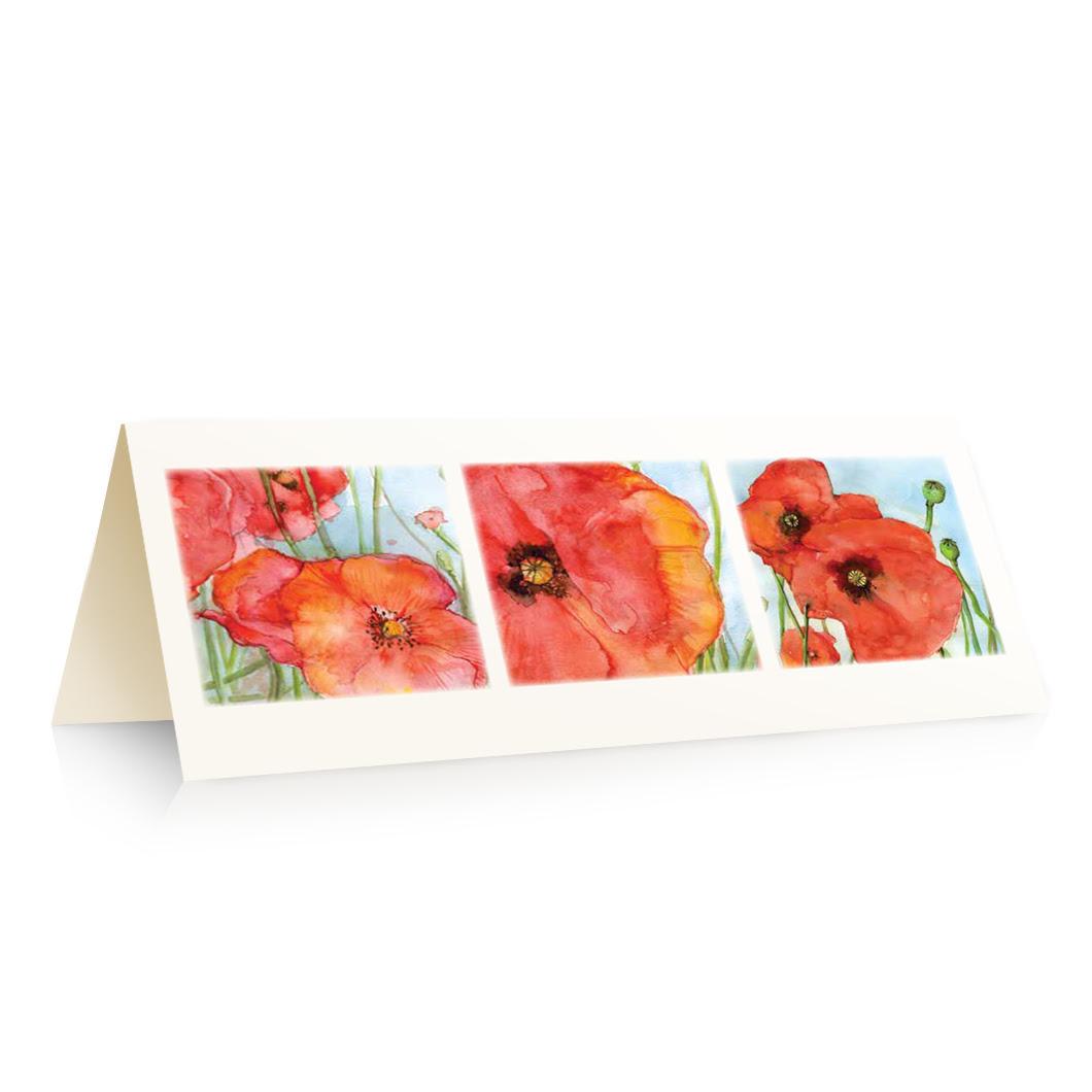 Poppy Blank Cards