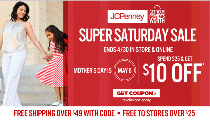 JCPenney Super Saturday Sale a...